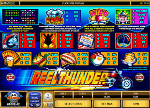 free Reel Thunder slot mini symbol
