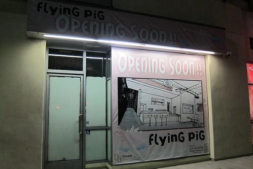 Flying Pig: Storefront in Little tokyo