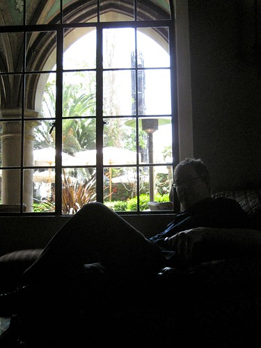Chateau Marmont Lobby Interior Window