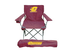 Central Michigan TailGate Folding Camping Chair