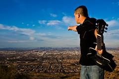 Taking Over Arizona (-Passenger-) Tags: arizona phoenix rocknroll southmountain panoramicview mrhowiewood