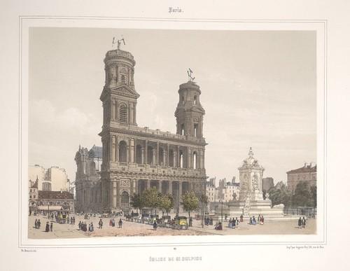 013- Paris-Iglesia de San Sulpicio 1858