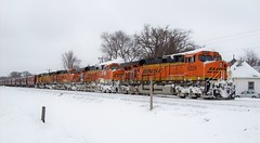 Burlington Northern SantaFe#2 (cameradude31) Tags: burlington trains northern waterlooiowa