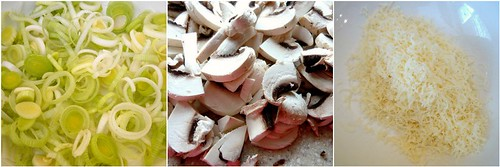 Leek & Mushroom Quiche