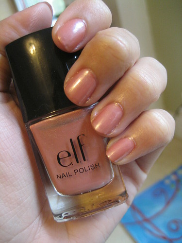 Elf Champagne Nail Polish