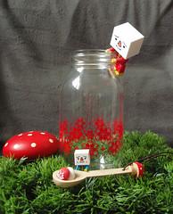 ...rouge. (astel83) Tags: cute mushroom kitchen rouge tofu spoon champignon decole decolello