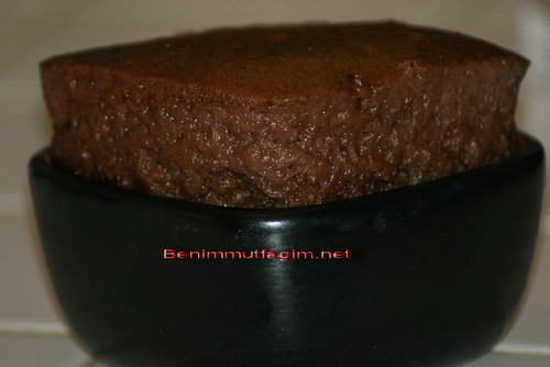 cikolatali buharda kek