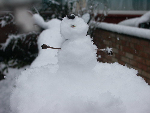 Mini Snowman (made by Kathryn)
