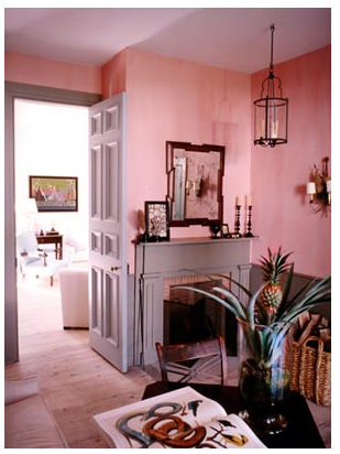 A few of my favorite pink rooms : Katy Elliott