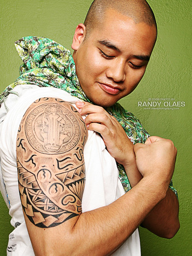 filipino tribal baybayin tattoo