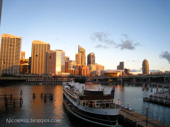 ship at darling harbour