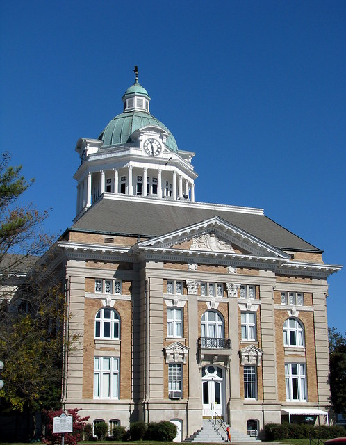 Giles County Courthouse 7 - South Side with cupola