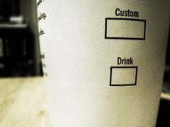custom drink
