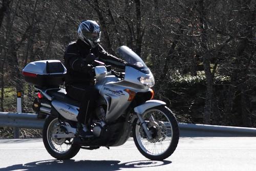 Motos en San Lorenzo de El Escorial