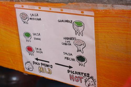 sign at tacochida