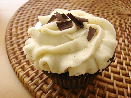 Chocolate Chai Cupcake