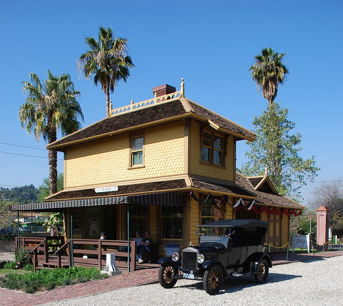 Palms-Southern Pacific Railroad Depot