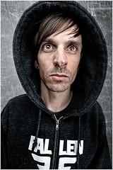 Boy in da Hood(y) (me_on_flickr) Tags: boy portrait self nose big hoody 365 hahahahaha