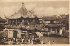 (China Postcard) Tags: shanghai   teahouse       zigzagbridge  shanghaiteahouse