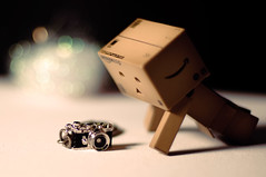 Really? I can have my own camera !! (kktp_) Tags: camera thailand toys nikon dof bokeh danbo sb800 50mmf14d d90 revoltech nikoncls danboard thankyoubabyxxx