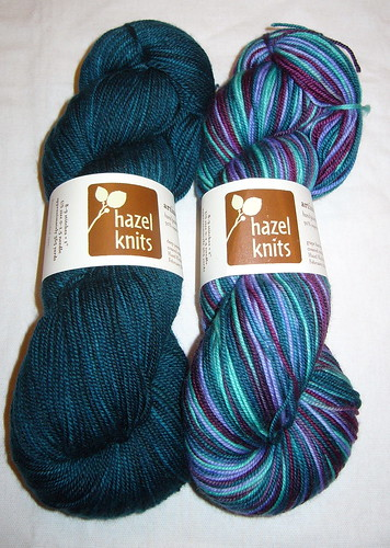 Hazel Knits Sock Club Feb 09
