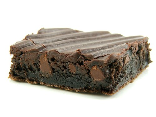 Dark Chocolate Chip Brownie