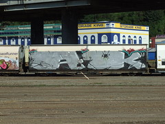 ZH 47 Wellington NZ (AA654) Tags: newzealand graffiti railcar wellington 47 zh aok 1000000railcars
