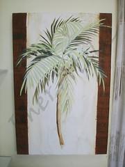 tela palmeira (Imer atelie) Tags: verde minas artesanato quadro decoração pintura painel mdf marrom bege tela palmeira colorido uberaba borda atelie imer imeratelie