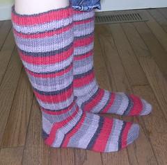 Thuja side (lstichweh) Tags: sock knit yarn knitty