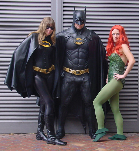 poison ivy batman costume. Batgirl, Batman and Poison Ivy