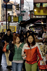 Girls in China(town) by Jeremy ???, on Flickr