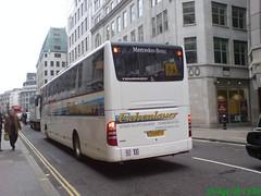 Eschenlauer (leszee) Tags: from uk france bus mercedes benz mercedesbenz coaches cannonstreet cityoflondon tourismo evobus mercedesbenztourismo eschenlauer