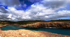 Binidal (Felix Casals) Tags: panorama costa felix paisaje cielo panoramica menorca cala binidali casals