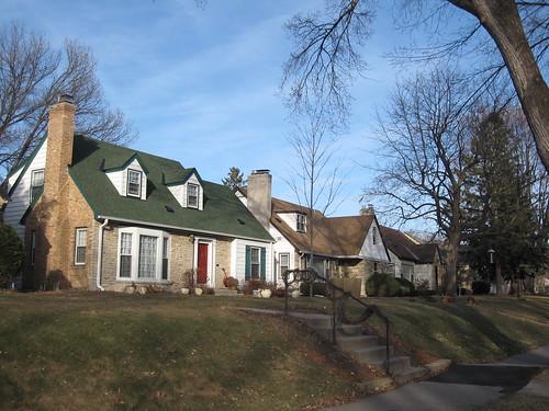 Homes along 57th St E