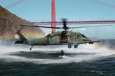 [フリー画像] [航空機/飛行機] [軍用ヘリ] [ヘリコプター] [HH-60 ペイブ・ホーク] [HH-60G Pave Hawk]      [フリー素材]