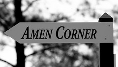 Amen Corner (Curiouser*Curiouser) Tags: blackandwhite argentina sign golf georgia championship champion monochromatic win cabrera perry themasters playoff amencorner augustanational greenjacket kennyperry practiceround canoneos40d angelcabrera butlercabin curiousercuriouser masters2009 bonnieblanton