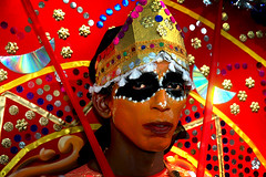 A Hot Day in Fort Kochi ! (Anoop Negi) Tags: world travel carnival girls red portrait people india color colour men girl face festival photography for photo amazing women essay media place mask image photos fort gorgeous delhi indian bangalore creative picture culture traditions kerala images best exotic human photograph hues journey po tradition mumbai 2008 kochi journalism ernakulam  ndia theyyam photosof   bestphotographer   imagesof anoopnegi   jjournalism     n