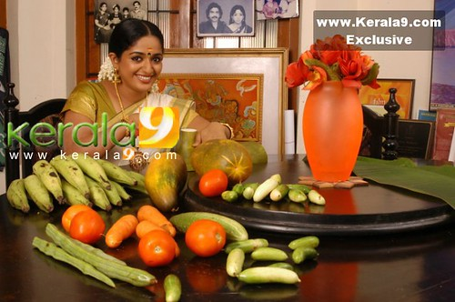 Kavya Madhavan with moringa and more