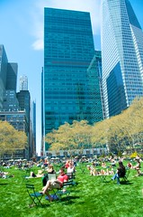 Bryant Park, late Apr 2009 - 14 by Ed Yourdon, on Flickr