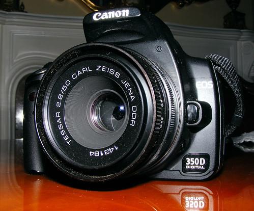 Carl Zeis Jenna 50mm F2.8 On Canon 350d Rebel XT
