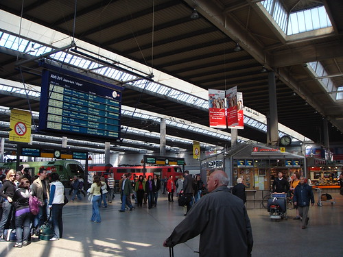 Munich Central Train Station