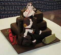 rock climbing wedding cake toppers the world s best photos by yen4cakes flickr hive mind 19248