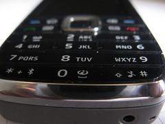nokia E75 -front keypad