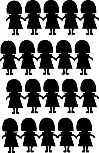 paper doll girls