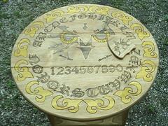 Owl Ouija Table (dragonoak) Tags: table ouija