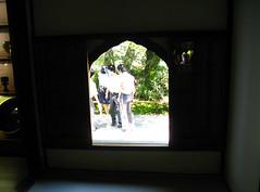window (Molly Des Jardin) Tags: windows light shadow window japan garden religious temple kyoto hiking buddhist religion shapes buddhism hike ohara kansai 2009 sanzenin 大原