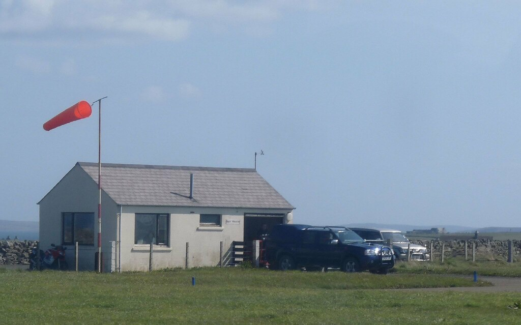The Papa Westray Airport Terminal