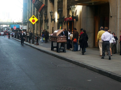 coffin in wall street