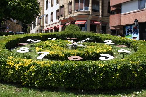 Hedge Clock