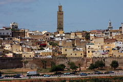 The Former Capital (MykReeve) Tags: road city building buildings minaret morocco meknes المملكةالمغربية المغرب مكناس geo:lat=33903093 geo:lon=5561491